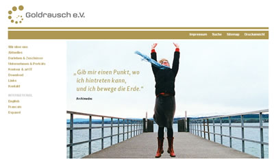 screenshot - www.goldrausch-ev.de